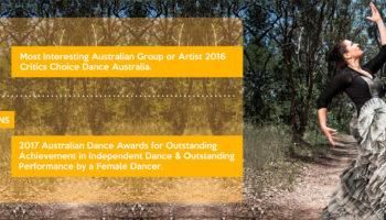 2 nominaciones para los Premios de Danza de Australia